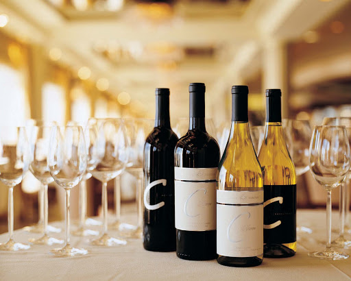 Culinary-Experiences-C-Wines - A fine selection of C Wines awaits you on board Crystal Symphony.