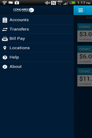Congaree State Bank - screenshot