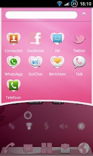 Elegant Pink Theme GO Launcher - screenshot thumbnail