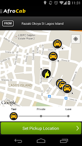 AfroCab - Taxi App for Africa