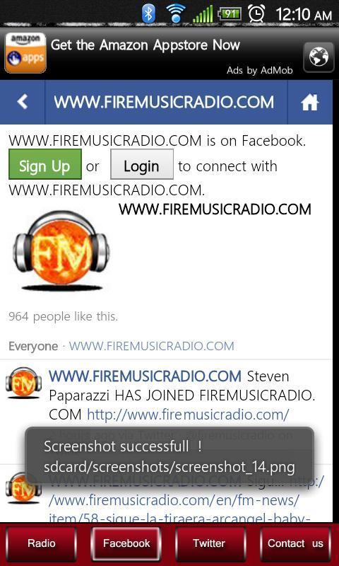 Fire Music Radio- screenshot