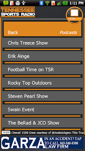 TN Sports Radio 1180 AM - screenshot thumbnail