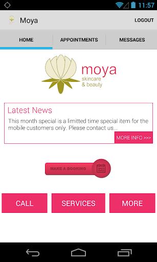 Moya - Beta App