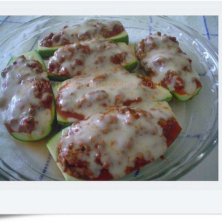 Zucchini Boats With Ground Beef