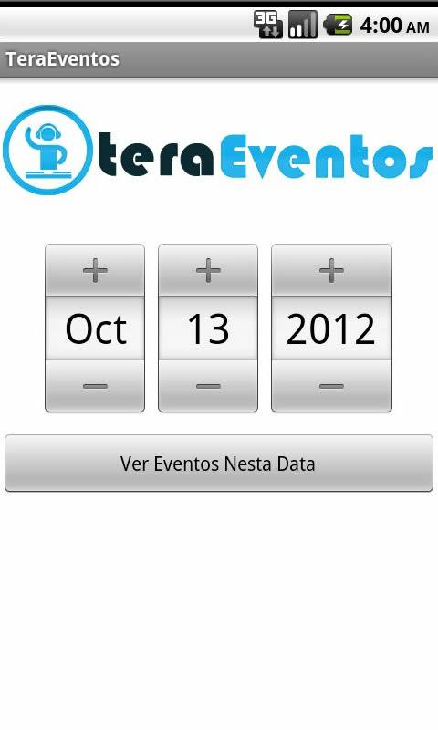 Tera Eventos - screenshot