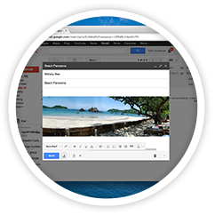 Gmail full-screen window