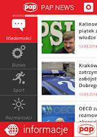 Screenshot of PAP NEWS