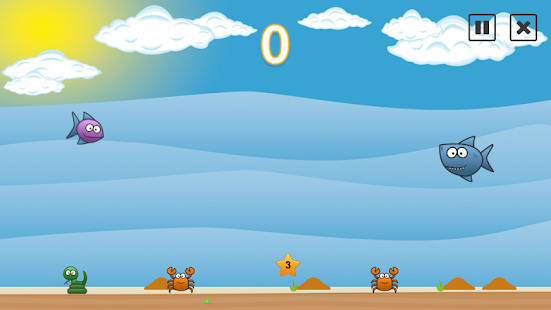 Glubby fish game of the fish android apps on google play for Turtle fish games