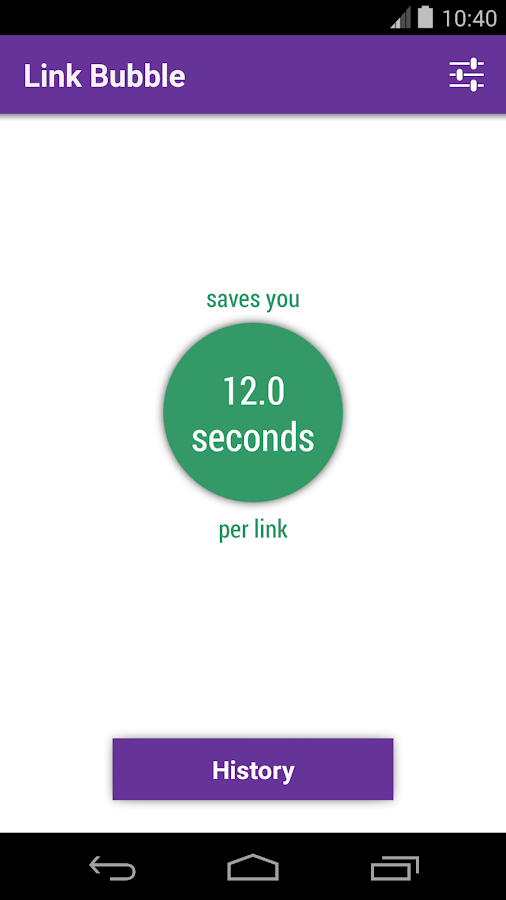 Link Bubble Browser Pro- screenshot