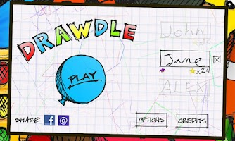 Screenshot of Drawdle Lite