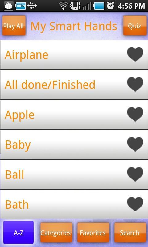 Baby Signing – My Smart Hands- screenshot