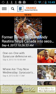 syracuse.com: SU Hoops News - screenshot thumbnail