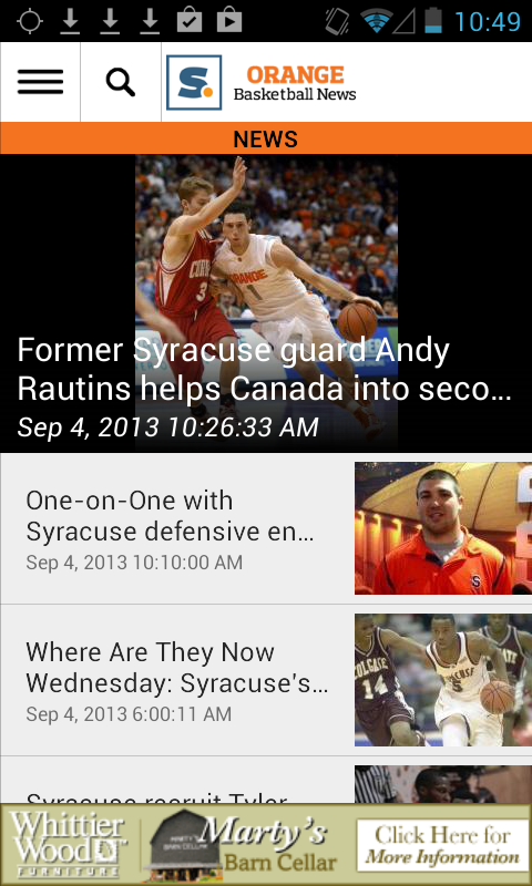 syracuse.com: SU Hoops News - screenshot
