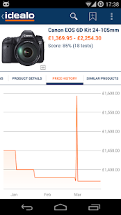 idealo Price Comparison - screenshot thumbnail
