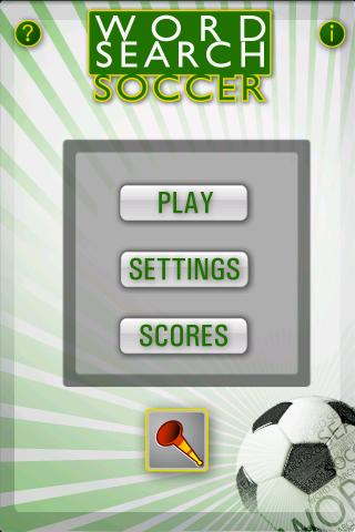 Word Search Soccer+ - screenshot