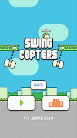 Swing Copters Screenshot 1