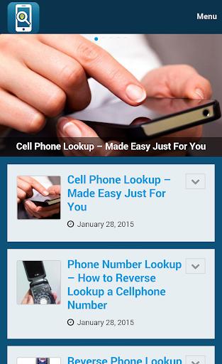 携帯電話の検索逆