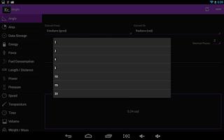 Screenshot of Konvertr Free - Unit Converter