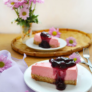 Healthy Cheesecake Recipe, No Baking And No Eggs