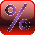 Percentor - Percent Calculator icon