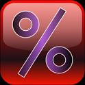 Percentor - Percent Calculator icon