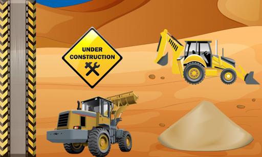 玩教育App 挖掘机  游戏的孩子 汽车免費 APP試玩