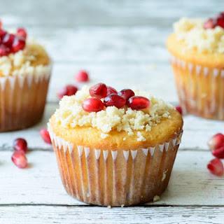 Gluten Free & Paleo Orange Pomegranate Muffins