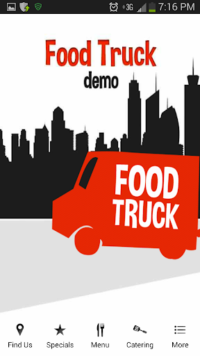 The Food Truck Demo