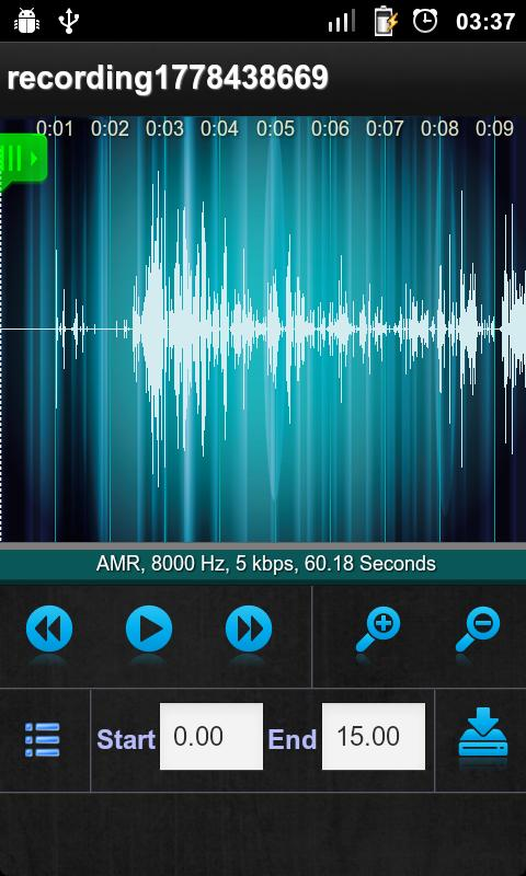 Sound Recorder- screenshot