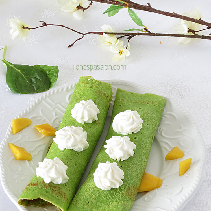 Crepes with Mango {Secret Ingredient}