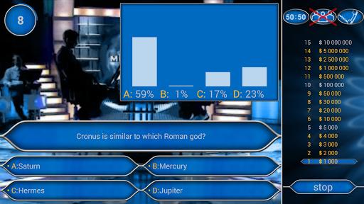 Millionaire Quiz Free: Be Rich 2.5.1 screenshots 2