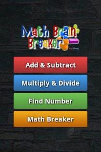 Math Brain Breaker