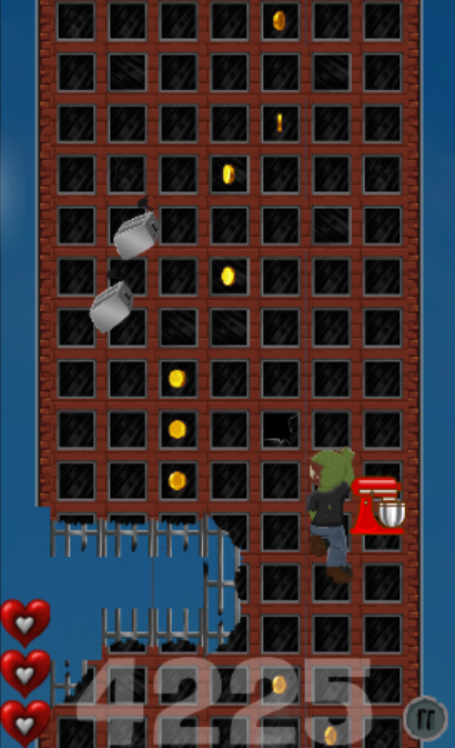 Crazy Zombie Climber- screenshot