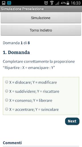 Quiz Infermiere Demo 2.0