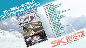 Screenshot of Ski Jumping 12