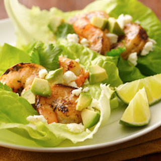 Mojito Shrimp Lettuce Wraps Recipe