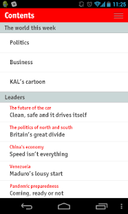 The Economist - screenshot thumbnail
