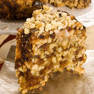 English Walnut Date Cake
