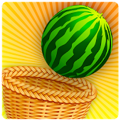 Circus Basket Fruit Catcher