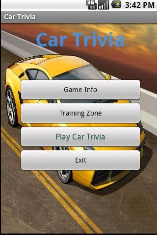 Cars Trivia Amazing - screenshot