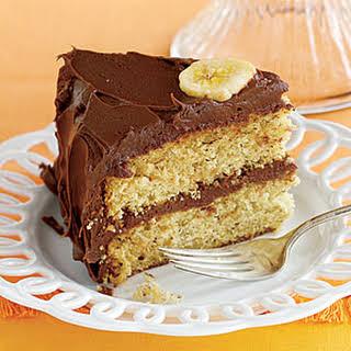 Chocolate-Covered Banana Cake.