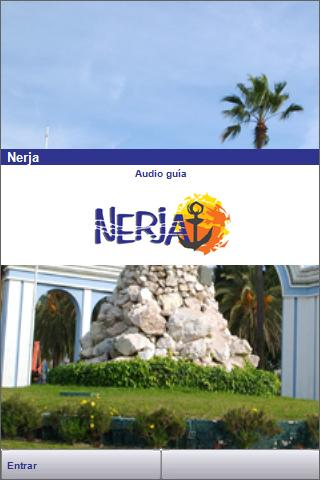 Nerja Audio guide, Spain- screenshot