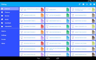 Screenshot of FileHog: Large File Manager
