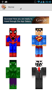 McPe Skins- screenshot thumbnail