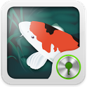 GO Locker Lucky Fishpond Theme icon
