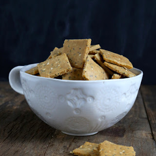 Crunchy Paleo Crackers.