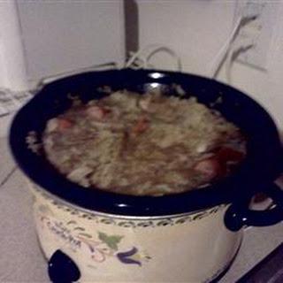 Easy Pork and Sauerkraut.