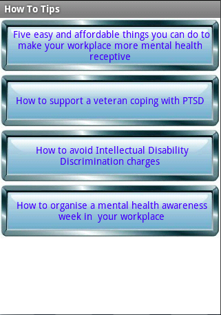 Mental Health At Work- screenshot