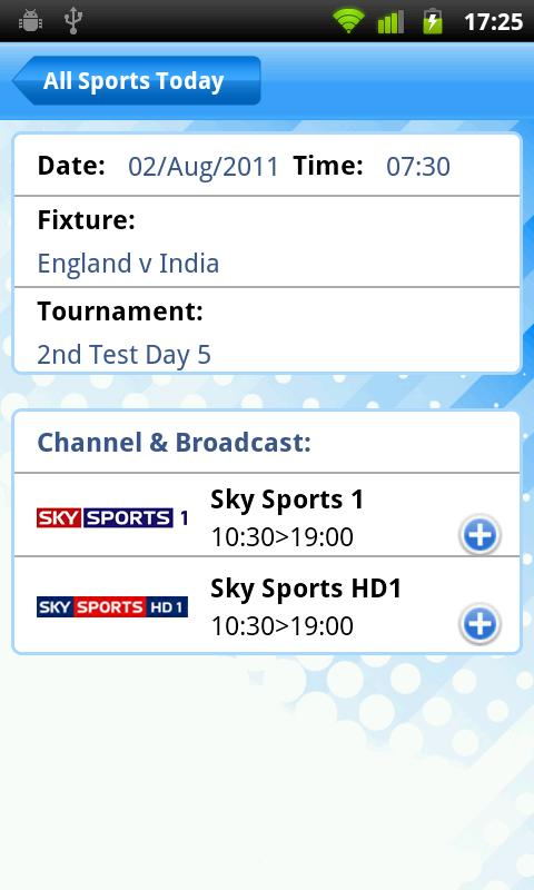 LiveSport.co.uk - screenshot