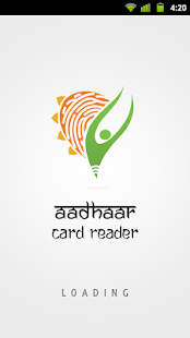 Aadhaar Card Reader - screenshot thumbnail